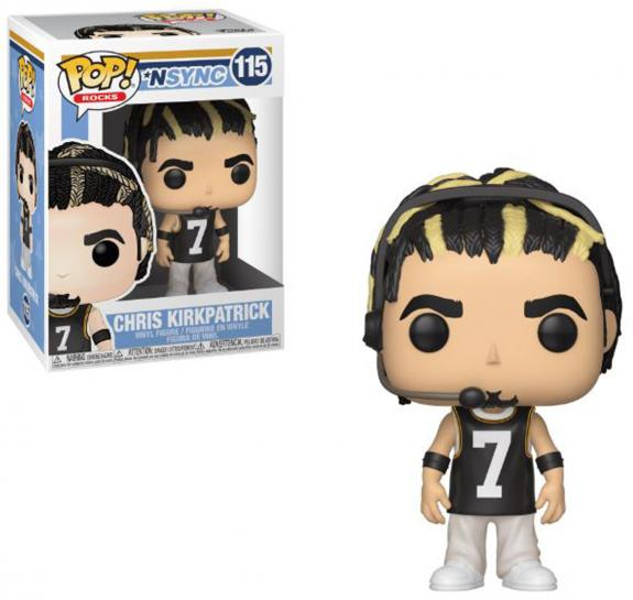 Chris Kirkpatrick NSYNC #115 Funko Music Pop!