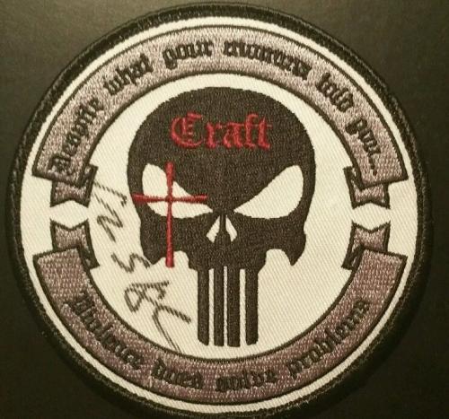 Chris Kyle American Sniper Signed Patch AUTO JSA Authentic Autograph THE LEGEND