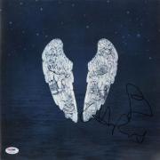 Chris Martin Autographed Ghost Stories Album Cover - PSA/DNA