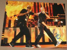 Signed Chris Martin Photo - Coldplay 11x14 Viva La Vida Grammy Coa C