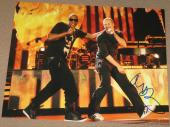 Signed Chris Martin Photo - Coldplay 11x14 Viva La Vida Grammy Coa C