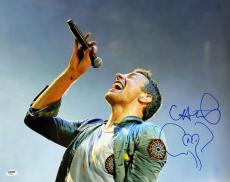 Chris Martin Coldplay Signed 16x20 Photo Autographed PSA/DNA #Y84083