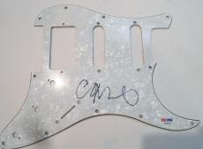 Chris Martin Coldplay Signed Electric Pickguard w/PSA DNA S82690