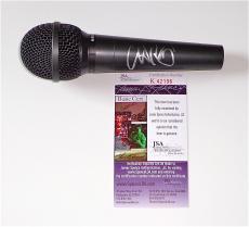 Chris Martin Coldplay Signed Microphone Jsa Coa K42196