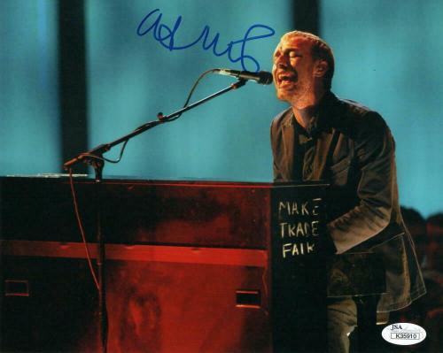 Chris Martin Signed Autograph 8x10 Photo - Coldplay Stud, Parachutes, X&y Jsa