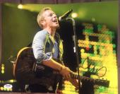 Chris Martin Signed Autograph Coldplay Stud On Stage 11x14 Photo Psa/dna Y63398