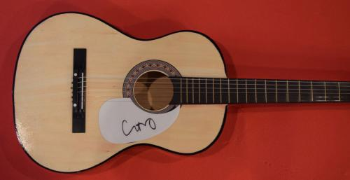 Chris Martin Signed Autographed Acoustic Guitar Coldplay Flawless