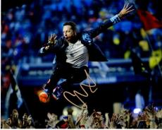 Chris Martin Signed - Autographed COLDPLAY Concert 8x10 inch Photo - Guaranteed to pass PSA or JSA