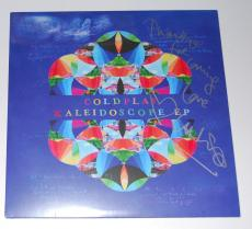 CHRIS MARTIN signed (COLDPLAY) KALEIDISCOPE EP record album W/COA