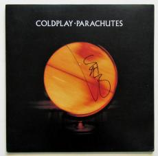 Chris Martin Signed Coldplay Parachutes record Album Signed.  Beckett BAS COA