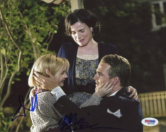 Chris O'Donnell & Abigail Breslin Signed 8X10 Photo PSA/DNA #M42346