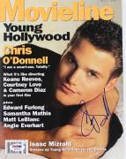 Chris O'Donnell Signed 1996 Movieline Magazine PSA/DNA #Q12476
