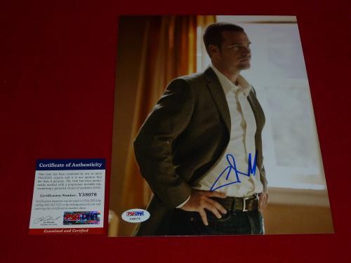 CHRIS O'DONNELL NCIS LA signed PSA/DNA 8X10 photo 1