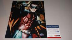 CHRIS O'DONNELL BATMAN & ROBIN SIGNED 8X10 PHOTO AUTOGRAPHED IP! PSA/DNA CERT! b