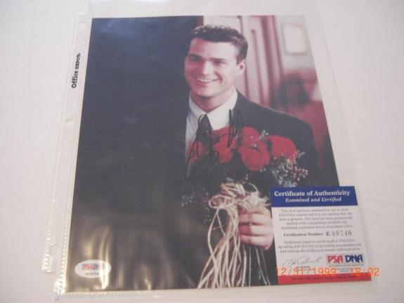 Chris O'donnell csi Losangeles Actor #2 Psa/dna Signed 8x10 Photo