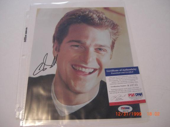 Chris O'donnell NCIS Los Angeles Actor Psa/dna Signed 8x10 Photo