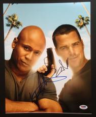 Chris O'donnell & Ll Cool J Signed 11x14 Photo Ncis La Cast Psa Coa  Autograph