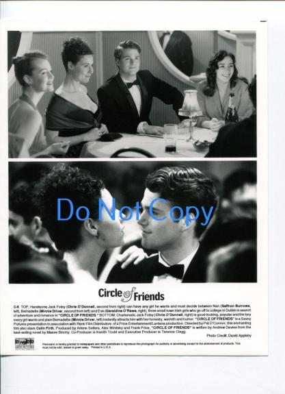 Chris O'Donnell Minnie Driver Saffron Burrows Circle Of Friend Movie Press Photo
