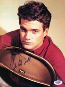 Chris O'Donnell Signed 8X10.5 Magazine Page Photo PSA/DNA #I84811