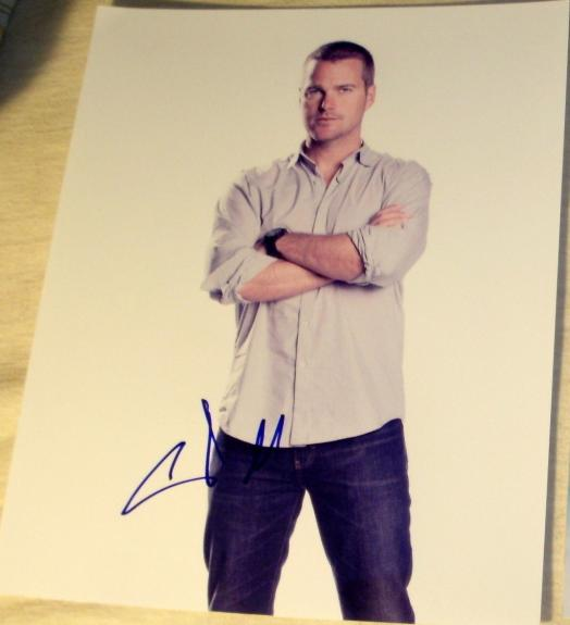 "Chris O'donnell Signed Autograph ""ncis: La"" Classic Stud Promo 8x10 Photo Coa"