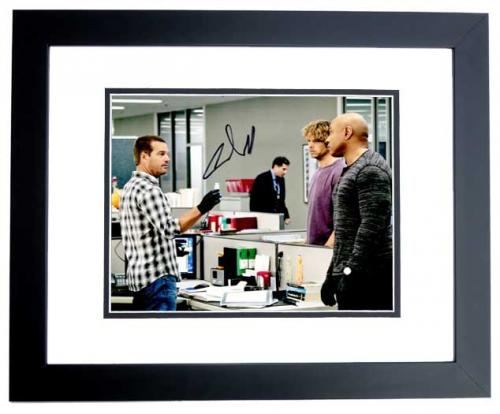 Chris O'Donnell Signed - Autographed NCIS: Los Angeles 8x10 inch Photo BLACK CUSTOM FRAME - Guaranteed to pass PSA or JSA