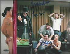 Chris Pontius Preston Lacy Danger Ehren 8x10 Photo Auto Upsc Coa 13558 8814