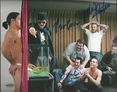 Chris Pontius Preston Lacy Danger Ehren 8x10 Photo Auto Upsc Coa 13559 8814