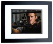 Chris Pratt Signed - Autographed Jurrassic World 8x10 inch Photo BLACK CUSTOM FRAME - Guaranteed to pass PSA or JSA - Parks and Recreation Actor