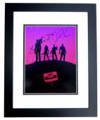 Chris Pratt, Bradley Cooper, Vin Diesel, and Zoe Saldana Signed - Autographed Guardians of the Galaxy 11x14 inch Photo BLACK CUSTOM FRAME - Guaranteed to pass PSA or JSA