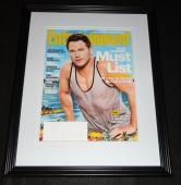 Chris Pratt Framed 11x14 ORIGINAL 2015 Entertainment Weekly Cover Jurassic World