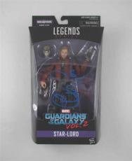 Chris Pratt Guardians Galaxy Autographed Signed Action Figure Certified JSA COA