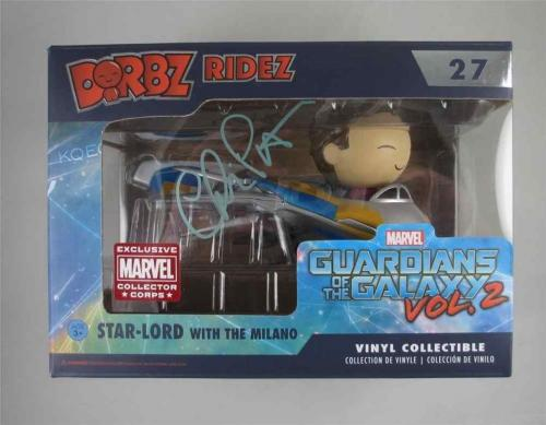 Chris Pratt Guardians of Galaxy Avengers Autographed Signed Pop Funko JSA COA