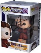 Chris Pratt Guardians of the Galaxy Autographed Star-Lord #155 Funko Pop!