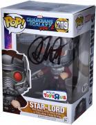 Chris Pratt Guardians of the Galaxy Autographed Star-Lord #209 Funko Pop!
