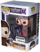 Chris Pratt Guardians of the Galaxy Autographed Star-Lord #52 Funko Pop!