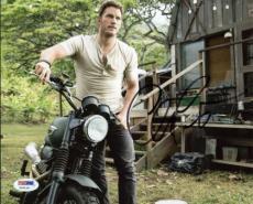 Chris Pratt Guardians Of The Galaxy Signed 8x10 Photo Psa/dna #y32119