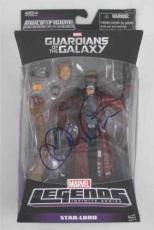 Chris Pratt Guardians of the Galaxy Signed Action Figure Certified PSA/DNA COA
