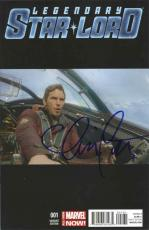 Chris Pratt Guardians of the Galaxy Signed Marvel Comic Book Certified PSA/DNA