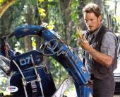 Chris Pratt Jurassic World Autographed Signed 8x10 Photo Authentic PSA/DNA COA