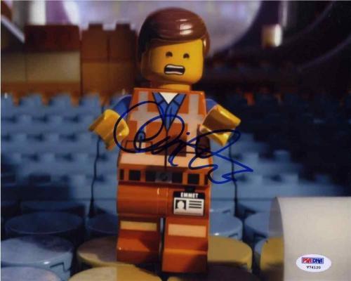 Chris Pratt Lego Movie Autographed Signed 8x10 Photo Authentic PSA/DNA AFTAL COA