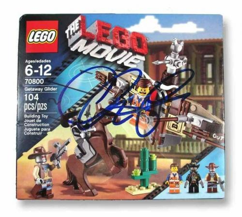 Chris Pratt Lego Movie Autographed Signed Lego Toy Certified PSA/DNA COA
