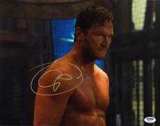 Chris Pratt SIGNED 11x14 Photo Peter Guardians of the Galaxy PSA/DNA AUTOGRAPHED