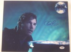 CHRIS PRATT Signed 11x14 PHOTO w/ PSA/DNA COA