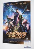 Chris Pratt Signed Autograph 12x18 Poster Photo Guardians of the Galaxy BAS COA