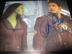 CHRIS PRATT SIGNED AUTOGRAPH 8x10 GUARDIANS OF THE GALAXY PROMO IN PERSON COA X4
