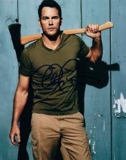 Chris Pratt Signed Autographed 8x10 Photo Guardians Of The Galaxy Vol 2. COA VD