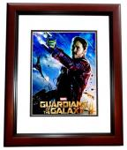 Chris Pratt Signed - Autographed Gardians of the Galaxy 11x14 inch Photo MAHOGANY CUSTOM FRAME - Guaranteed to pass PSA or JSA - Parks and Recreation Actor