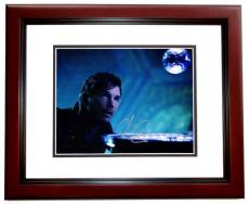 Chris Pratt Signed - Autographed Guardians of the Galaxy 8x10 inch Photo MAHOGANY CUSTOM FRAME - Guaranteed to pass PSA or JSA - Parks and Recreation Actor