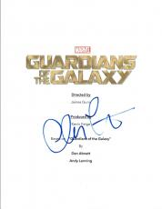 Chris Pratt Signed Autographed GUARDIANS OF THE GALAXY Movie Script COA VD