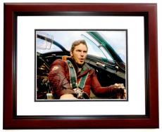 Chris Pratt Signed - Autographed Guardians of the Galaxy Star-Lord 11x14 inch Photo MAHOGANY CUSTOM FRAME - Guaranteed to pass PSA or JSA